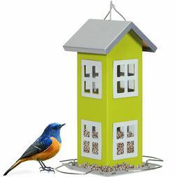 Outdoor Wild Bird Feeder Weatherproof House Design Garden Ya