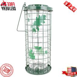 Perky-Pet 114G Squirrel Stumper Wild Bird Feeder Green