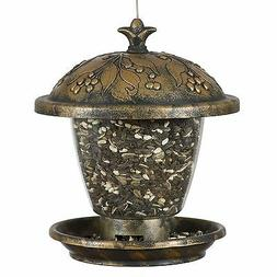 Perky-Pet 305 Holly Berry Gilded Chalet Wild Bird Feeder Gol