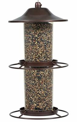 Perky-Pet 325S Panorama Bird Feeder Holds up to 2 lbs of see