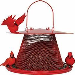 perky pet c00322 red cardinal bird feeder