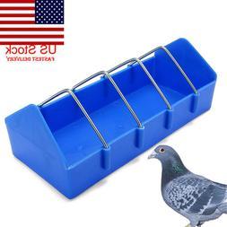 Pigeon Feeder Water Food Feeding Birds Parrots Hanging Cage