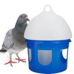 Plastic Pet Bird Drinker Feeder Pigeons Water Bottle Cup Sto