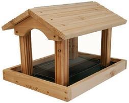 Woodlink PRO4 Premier Cedar Bird Feeder