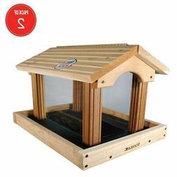 pro4 premier cedar bird feeder pack of