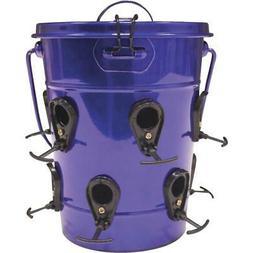Heath Purple Bucket Bird Feeder,Part 21701, Powder coated me