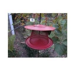 red cardinal bird feeder c00322