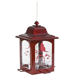 Perky-Pet Red Sparkle Lantern Wild Bird Feeder
