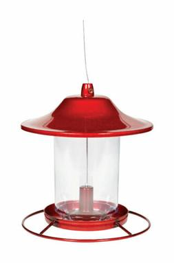 Perky-Pet Red Sparkle Panorama Feeder