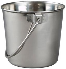 Round Bucket-Style Single Bowl, 1 Quart