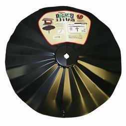Erva SB6 Pole Mount Disk Baffle, Black, 22.5-Inch