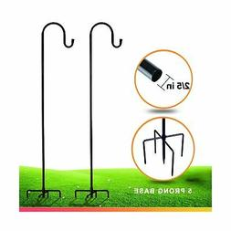 Shepherd-Hooks for Bird-Feeder Lantern Plant-Hook Garden-Sta