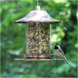 Perky Pet Small Copper Panorama Bird Feeder
