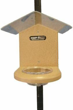 Birds Choice SNMW Recycled Pole-Mounted Mealworm Feeder