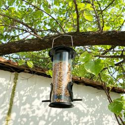 Sorbus Bird Feeder Classic Tube Hanging Feeders for Finches
