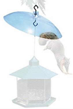 Squirrel Baffle Clear Plastic Baffler Non Electric Wild Bird