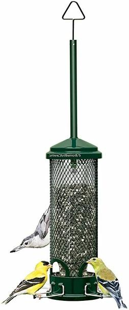 Squirrel Buster Mini Squirrel-proof Bird Feeder w/4 Metal Pe