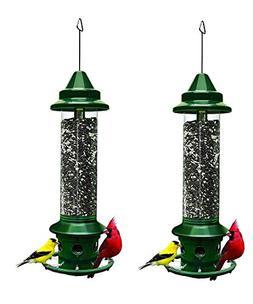 "Squirrel Buster Plus 6""x6""x28""  Wild Bird Feeder Cardinal Ri"