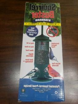 Brome Squirrel Buster Standard Wild Bird Feeder 4  Perches H