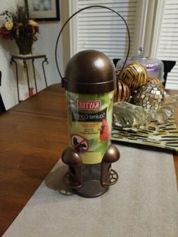 Kaytee Squirrel Control Wild Bird Feeder Bronze Metal Clear