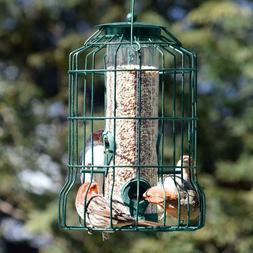Squirrel Proof Bird Feeder Decorative Small Outdoor Garden H