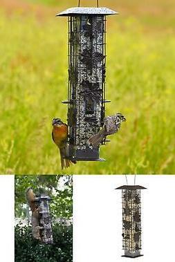 Squirrel Proof Wild Bird Feeder 2lb Capacity Garden Seed Foo