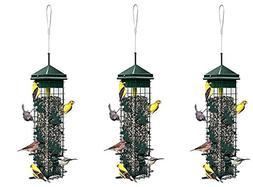 """Brome Squirrel Solution200 5.5""""x5.5""""x30""""  Wild Bird Feeder w"""