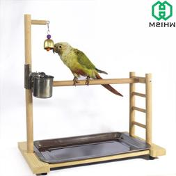 WHISM Stainless Steel Pet Feeding Cups Parrot Waterer <font>