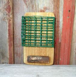 Suet Feeder Fence or Pole Mount, Outdoor Suet Cake Bird feed