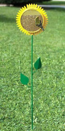 SUNFLOWER STAKED BIRD FEEDER by HERITAGE FARMS