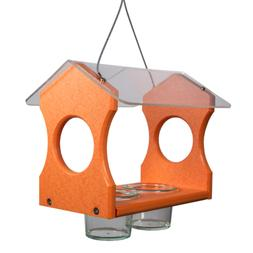 Nature Products USA Orange Oriole Poly Lumber Bird Feeder 30