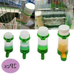 Budgie Cage Clip Food Feeder Feeding Equipment Pet Water Dri