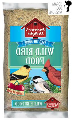 Wagner's 53002 Farmer's Delight Wild Bird Food, With Cherry