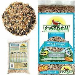 Wagner's Wild Bird Food Deluxe Blend Sunflower Seeds Peanuts