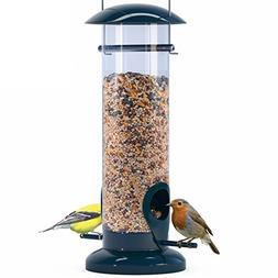 Nibble Weather Proof Anti-Bacterial Bird Feeder with UV Sun-