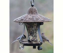Woodlink Wicker Lantern Bird Feeder