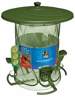wide mouth unity songbird feeder with four