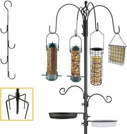 Bird Feeder Pole Wild Bath Seed Station Hanging Garden 6' Sq