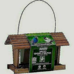 Pennington Wild Bird Feeder Classic Cedar Nature's Friend 3