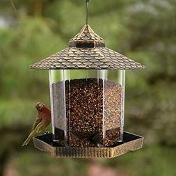 wild bird feeder hanging for garden yard