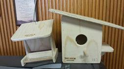 WILD BIRD FEEDER KIT. COMES WITH FEEDER AND HOUSE #GD3 AND #