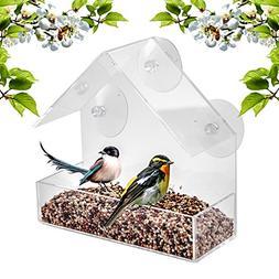 Window Bird Feeder - Built To Last A Lifetime - Decorate You