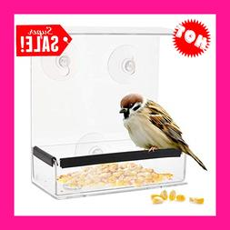 window bird feeders with strong suction cups