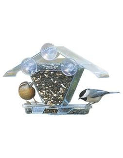 Aspects Window Cafe Bird Seed Feeder Clear View Easy Mount C