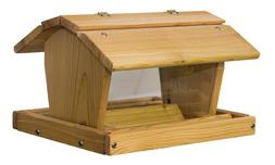 Wood 14-Pounds Large Barn Feeder