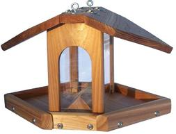 Wood Multi Sided Feeder with Chain