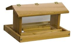 Wood Standard Post Mount Feeder