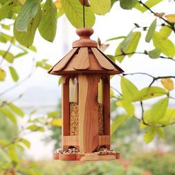 Wooden <font><b>Bird</b></font> <font><b>Feeder</b></font> E