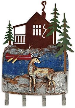 Sunset Vista Designs Woodland Deer Wall Mounted Key Rack Org