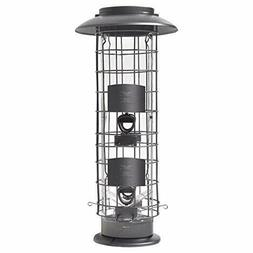 More Birds 106IN X-4 Squirrel-Proof Bird Feeder with the Sur